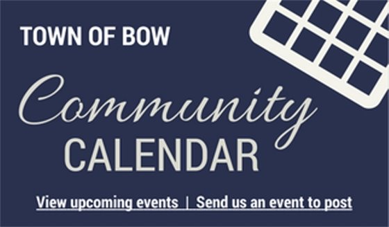 View the Community Calendar or send us your event info.