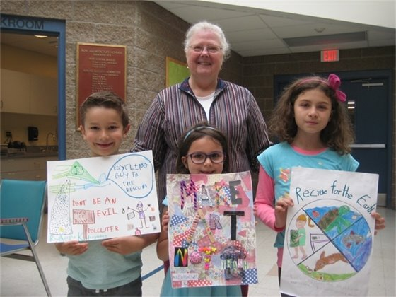 Earth Day poster contest prize winners June 2017