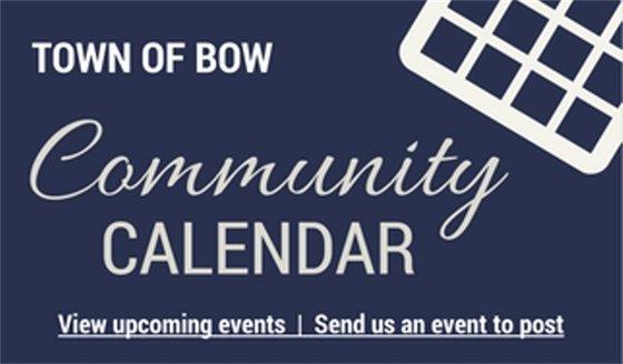Bow Community Calendar