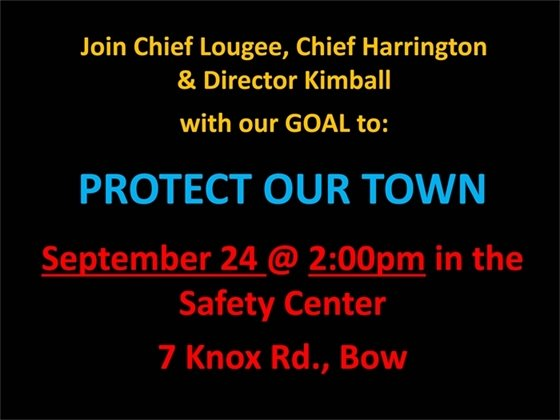 Protect Our Town
