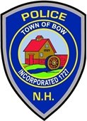 Bow Police Department Badge