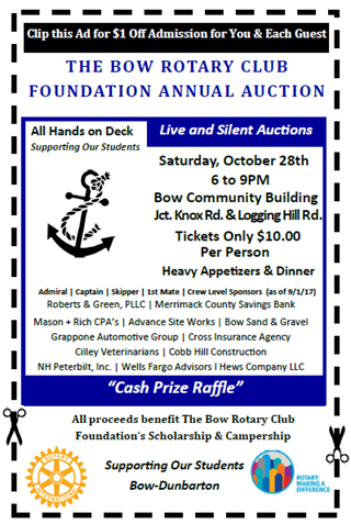 2017 Rotary Auction