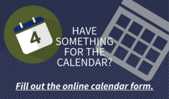 Have something for the calendar?