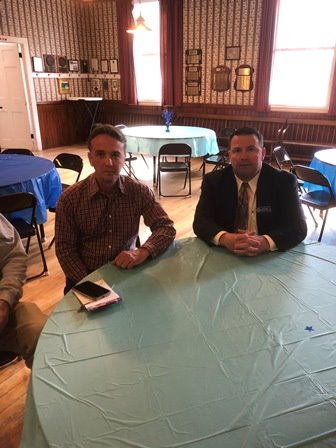 Community Development Director Matt Taylor and Selectmen Matthew Poulin