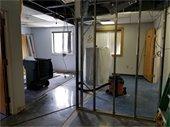 Renovation work at DPW