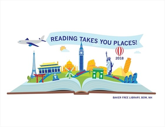 Baker Free Library Reading Takes you Places