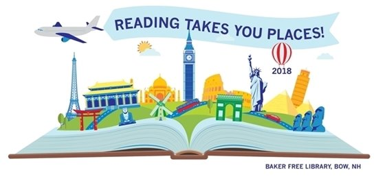 2018 Summer Reading Logo
