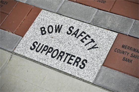 Bow Safety Supporters Brick Fundraiser