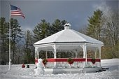 Gazebo by the Community Center