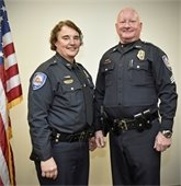 Chief Lougee and Sgt. Merrigan