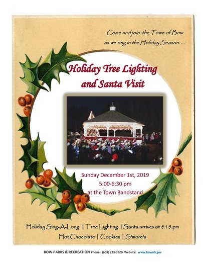 Holiday Tree Lighting and Santa Visit