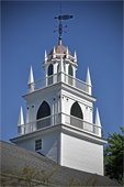 Completed Church Steeple today