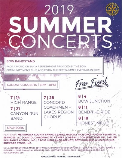 Town of Bow Summer Concert Series