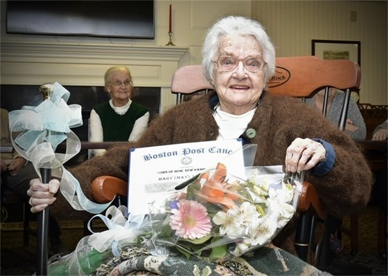 Mary (May) Allquist the Boston Post Cane Recipient