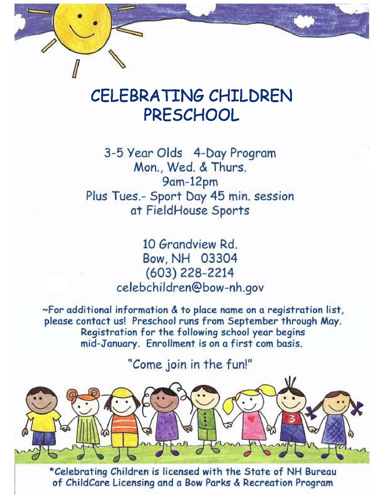 Celebrating Children Flyer