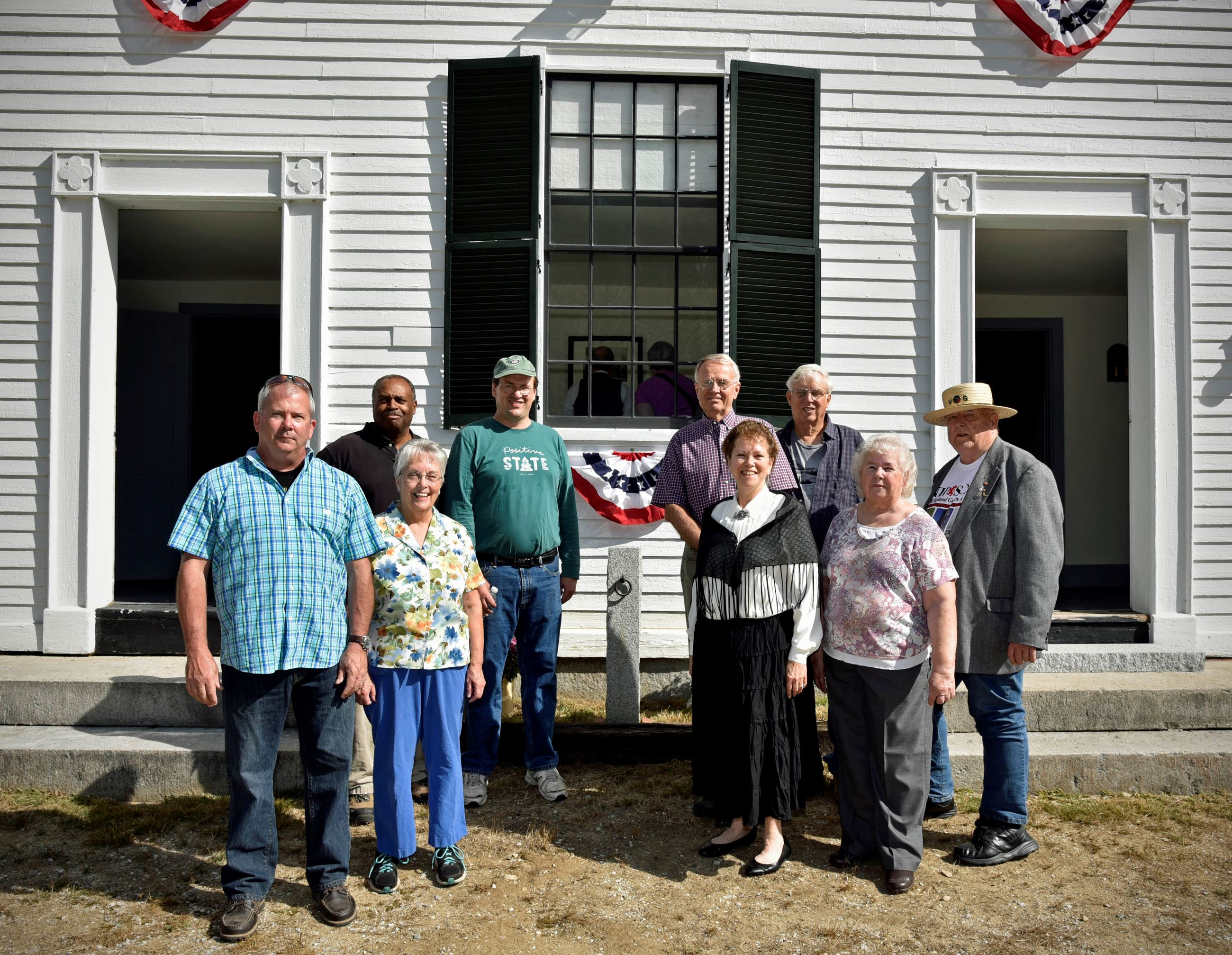 Members of the Bow Heritage Commission (photo by Eric Anderson)